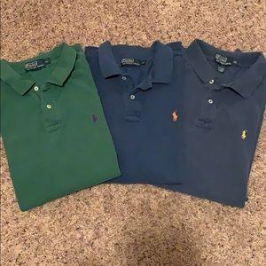 Polo Ralph Lauren shirts